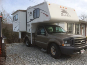 2008 Eagle Cap 850  Slide in Camper with slide