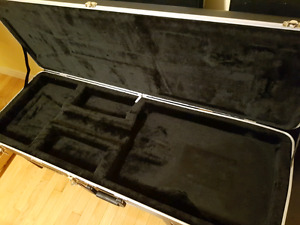 HARDSHELL MOLDED GUITAR CASE $150 OR TRADE FOR IBANEZ CASE