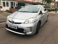 TOYOTA PRIUS NICE CLEAN CAR LEATHER PCO READY UK MODEL WARRANTED MILES HPI CLEAR