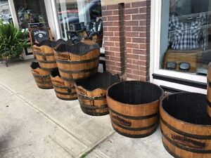 Original Jack Daniels branded oak whiskey barrels for sale! Peterborough Peterborough Area image 8
