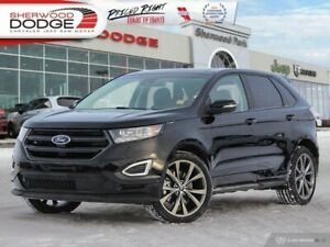 2018 Ford Edge Sport  | PREMIUM AUDIO | HEATED SEATS | LOW KM