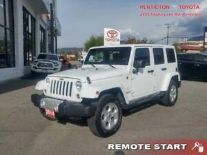 2014 Jeep Wrangler Unlimited SAHARA  - VERY CLEAN