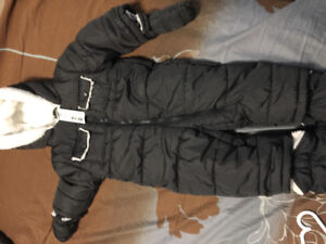 3-6 months full body snow suit