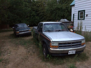 1992 Dodge Dakota and 1995 Dodge Dakota 5.2L 318 v8 4x4