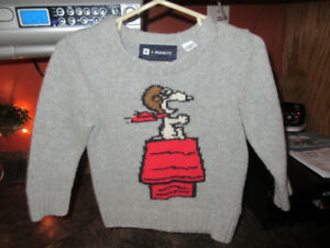 Baby Gap Snoopy Sweater