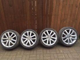 "VW Golf GTD Vancouver Alloys wheels 18"""