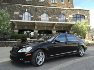 2009 Mercedes AMG S-Class 5.5L V8 Sedan / NIGHT VISION / AWD