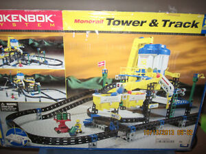 Rokenbok Monorail Tower and Track set