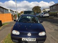 Golf 2000 1.6 petrol great condition