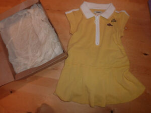 NEW Roots dress with bloomers, size 2T