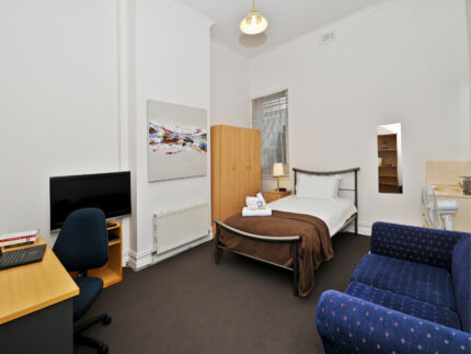 Single Furnished Room with Private Bathroom - AVAILABLE NOW Carlton Melbourne City Preview