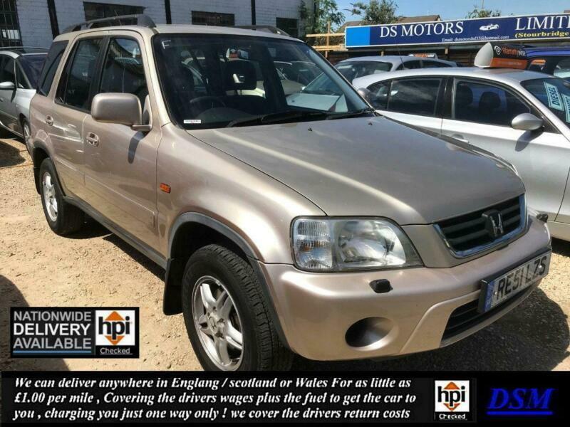 2001/51 Honda CR-V 2 0 ES Executive Auto