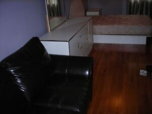 Bedroom set- Couch, Night Tables & Dresser