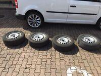 VW Caddy wheels