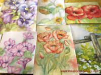WATERCOLOR MAGIC: FLORAL PAINTING CLASSES