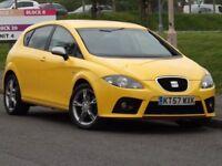 SEAT Leon 2.0 T FSI FR (yellow) 2008