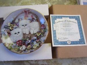 Collectible Plate - Basket of Love