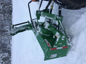 "60"" snowblower"