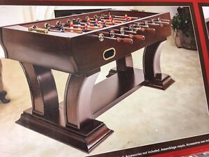Brand new Foosball table