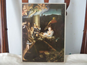 Beautiful vintage German religious print