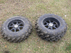 "28"" Swamp Lite Tire and Rim Set Quad/UTV SxS Tires Regina Regina Area image 1"
