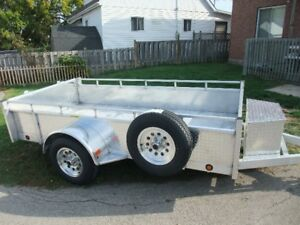 FULL ALUMINUM TRAILERS - CANADIAN MADE
