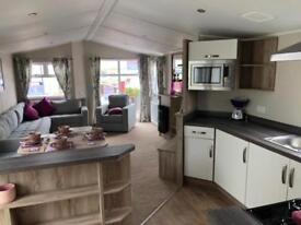 Static caravan for sale CONTACT BOBBY 12 month season morecambe north west views