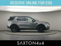 2017 Land Rover Discovery Sport 2.0 TD4 HSE Black Auto 4WD (s/s) 5dr SUV Diesel