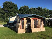 Conway cardinal fold away camper, caravan, tent, trailer