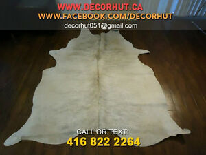 Soft and Smooth Cowhide Rugs from Brazil