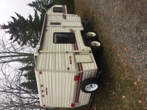 1995 sunrise 24 foot fifth wheel trailer for sale