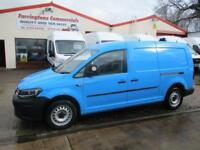 65 reg Volkswagen Caddy Maxi facelift 1.6 TDI 102 PS VAN AIR CON 11,000 MILES