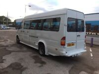 Mercedes sprinter 412d 17 seater Mini bus
