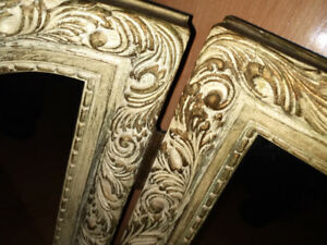 A MIROIRS antiques. (3)