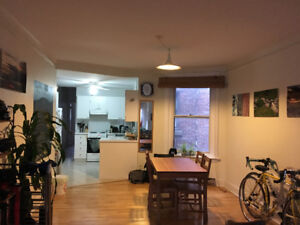 Summer sublet: room in 2 bedroom apartment in Mile End/Outremont