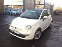 FIAT 500 LOUNGE 1.2, 2012, **TOP SPEC**GLASS ROOF** NEW M.O.T, LOVELY CAR!!