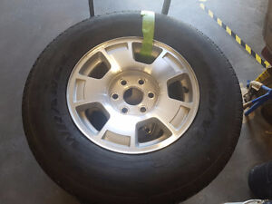 Goodyear Wrangler Truck Tires and Rims 265-70-R17