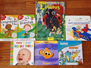 $ 5 for lot of 7 kid's books