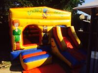 Scooby doo bouncy castle with slide