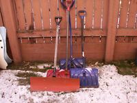 Snow shoveling of sidewalks and driveways. 403-986-5588.