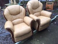 SOFA AND 2 CHAIRS ** FREE DELIVERY MONDAY NIGHT **