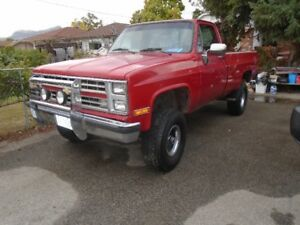 1985 Chevrolet p/u Truck  needs moter work reduced to sell