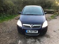 Vauxhall/Opel Zafira 1.9CDTi ( 120ps ) 2008.5MY Exclusiv 7 Seater full history