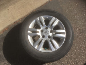 Nissan Altima Rims and all season tires