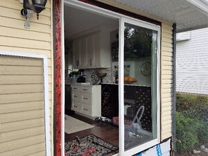 Double Pane Vinyl Sliding Door
