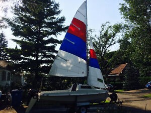 Mistral 16' micro cruiser with cuddy