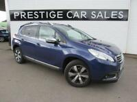 2014 Peugeot 2008 1.6 e-HDi Allure (s/s) 5dr Diesel blue Manual