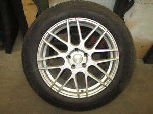 Winter Tires & Rims - Only one Season of use!