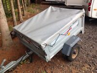 Trailer erde 102 4 by 3 with cover