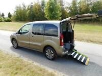 2014 Peugeot Partner Tepee 1.6 Hdi 5 SEATS 21K Wheelchair Accessible Vehicle WAV